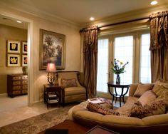 Deluxe Condominium Interior In Glamorous Style : Charming Living Room  Fabric Sofa Bexley Gateway Condominium