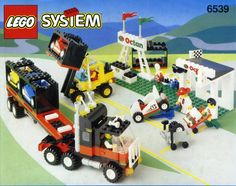 6539-1: Victory Cup Racers Lego 4, Cool Lego, Lego Projects, Projects For Kids, Classic Lego Sets, Formula 1, Lego Truck, Classic Ford Trucks, Vintage Lego