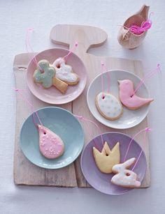 Cute Easter cookie ornaments idea