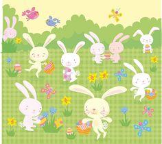 Bunnies by Stella Baggott, via Flickr