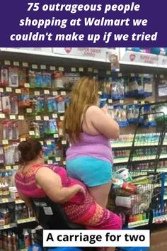 Shopping at Walmart generally isn't all that exciting. Maybe that's why some people seem to go out of their way to liven it up a little (or a little too much).  We've seen some strange, crazy, and downright bizarre clothing and behaviors at Walmart over the years.