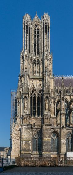 Reims Cathedral, Cathedrals, Notre Dame, Building, Travel, Voyage, Buildings, Viajes, Traveling