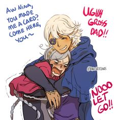 Niles is a really sweet dad and it kills me
