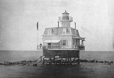 Bridgeport Harbor Light  *This lighthouse no longer exists.