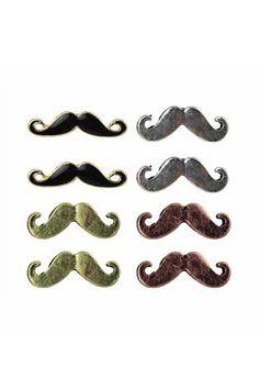 Lovely Mustache Earrings :D