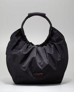 prada cross body bag sale - Tessuto+Bomber+Diagonal-Zip+Tote+Bag,+Black+by+Prada+at+Neiman+ ...