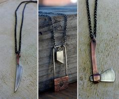 Miniature Weapons Jewelry | DudeIWantThat.com