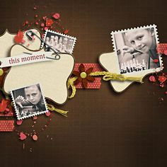 """"""" Our Lives mini 02 """" mini kit by Camomile Designs"""