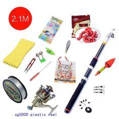 Accessories Portable Carbon Rod Combo Sea Fishing Rods And Reels Ocean Saltwater Fishing Baitcasting Telescopic Carp Tuna Set