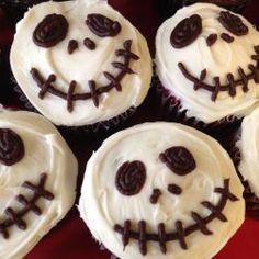 Cupcakes décorés pour l'Halloween @ http://qc.allrecipes.ca