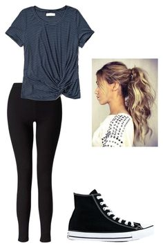 """""""school"""" by daisydoo1604 on Polyvore featuring Miss Selfridge, Abercrombie & Fitch and Converse"""