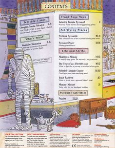 Horrible Histories Magazine # 3 : The Awesome Egyptians Mummy Mania Egyptian Crafts, Egyptian Mummies, Egypt Information, Ancient Egypt Lessons, 6th Grade Social Studies, 6th Grade Reading, Horrible Histories, History Magazine