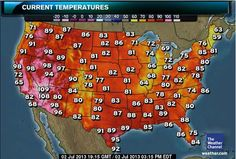 National and Local Weather Forecast, Hurricane, Radar and Report - Heatwave June 2012 Fire Nation, The Weather Channel, Everything Changes, Weather Forecast, Death Valley, Summer Heat, Heaven On Earth, Climate Change, San Diego
