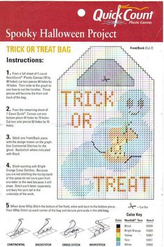 TRICK OR TREAT TOTE 2/2