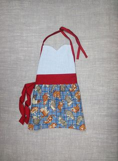 Perfect prop for cooking themed shots Child's Sweetheart Style Full Apron Kitten by - cynthiamadeforkids