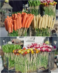 Food on a Stick. I love food on a stick!