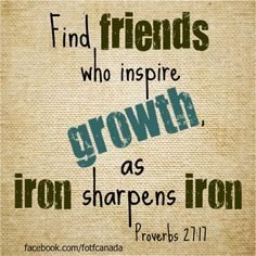 Pray that your kids would find friends who inspire growth, as iron sharpens iron. Proverbs 27:17.