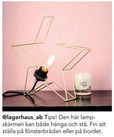 Lampskärm STAR - Lagerhaus.se