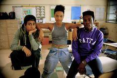 Still of Tony Revolori, Kiersey Clemons and Shameik Moore in Dope (2015)