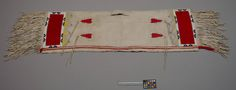 S. Cheyenne saddle bags, taken during the Battle of the Washita in 1868. NMNH ac