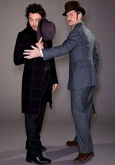 "Robert Downey Jr. and Jude Law - ""Sherlock Holmes"" photoshoot"