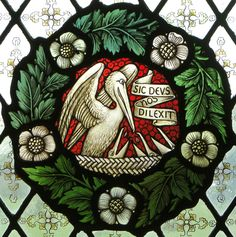 pelican in her piety - Yahoo Image Search Results Stained Glass Paint, Stained Glass Windows, Medieval Banner, Dragons, Christ The King, Glass Animals, Jesus Cristo, Pattern Drawing, Sacred Art