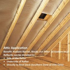 Reflectix 24 in. x 25 ft. Double Reflective Insulation Roll with Staple Tab - The Home Depot Attic Organization, Attic Storage, Attic Renovation, Attic Remodel, Roof Insulation, Basement Insulation, Insulation Types, Foyers, Diy Home Repair