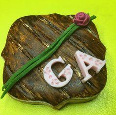 Ahşap Eskitme Düğün Kurabiyesi - Melek Anne Pasta Anne, Catering, Cupcake, Pasta, Catering Business, Gastronomia, Cupcakes, Cupcake Cakes, Cup Cakes