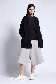 Juni Cashmere Pod Jacket in Black / Black & Ivory Juni, Cotton Bag, Stylish Girl, Color Mixing, Cashmere, Normcore, Ivory, Spring, Summer