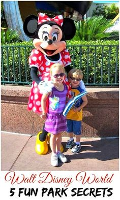 5 Walt Disney World Park Secrets (so much fun!) #DIYDisney #WDWDisneyTips @waltdisneyworld