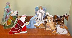 stained glass nativity patterns | NATIVUTY STAINED GLASS PATTERN | Browse Patterns