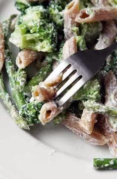 Pasta With Ricotta Asparagus And Broccoli Recipe