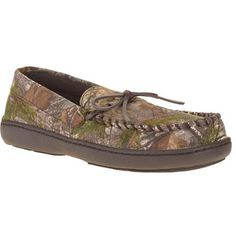 96f526822103d Men s Camo Tie Moccasin Slippers - Walmart.com