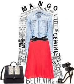 """Changing a Little with Mango"" by julietav ❤ liked on Polyvore"