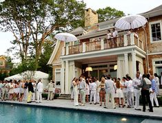 All white party | Hampton Chic