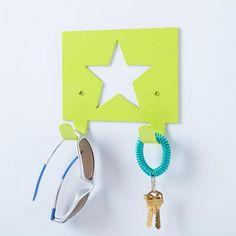 Kids' Storage: Kids' Star Wall Hook in Closet Storage