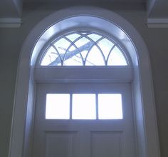 Arched-Top Front Entry Door