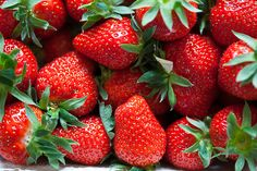 It's that time of year again. FRESH STRAWBERRIES...yes!