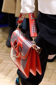 A bag from J.W. Anderson's fall 2016 collection. Photo: Imaxtree.