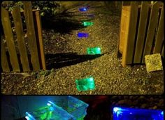 DIY Solar Powered Walkway