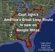 Cruising America S Great Loop Cruise America Boat Trips Cruise