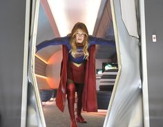 Season 1 (Episode 5, How Does She Do It?): Supergirl