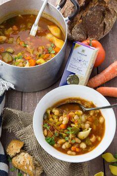 Vegan Minestrone Soup
