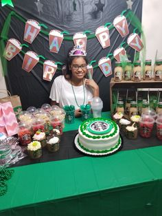 Starbucks birthday party