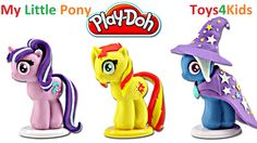 PLAY DOH MY LITTLE PONY Friendship is Magic MLP Toys 2016 by Toys4Kids