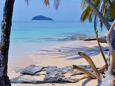 Beach of Ko Bulon Lae, is a small resort island in de Andaman sea reachable by chartered boat from de Pak Bara jetty in Satun_ Thailand