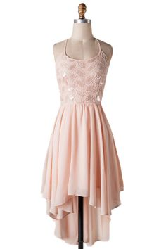 The Perfect Occasion Cocktail Dress in Blush..perfect dress to wear to a wedding!