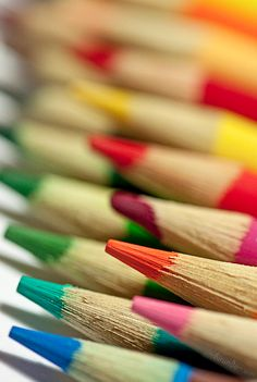 #colorfulworld endless art we could produce with these COLORful pencils