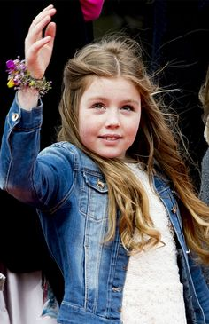 royalwatcher:  Princess Alexia of the Netherlands celebrates Koningsdag (King's Day) festivities on April 27, 2016 in Zwolle, Netherlands. Source: Andreas Rentz/Getty Images Europe