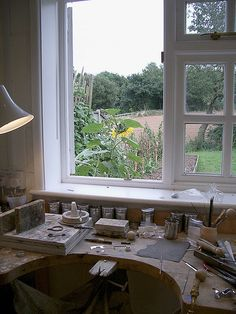 Wow I would love to have this one day - The Jewellery Making Workshop